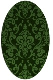 rug #1129397 | oval traditional rug
