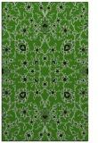 rug #1129419 |  green damask rug
