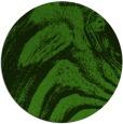 rug #1129463 | round green popular rug