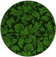 rug #1129503 | round light-green natural rug