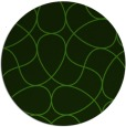 rug #1129543 | round light-green abstract rug