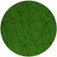 rug #1129583 | round green graphic rug