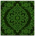 rug #1129611 | square light-green traditional rug