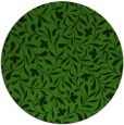 rug #1129643 | round light-green damask rug