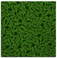 rug #1129651 | square light-green damask rug