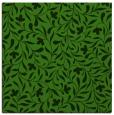 rug #1129651 | square green damask rug