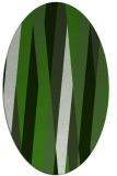 rug #1129655   oval light-green abstract rug