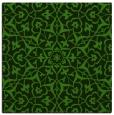rug #1129691 | square light-green geometry rug