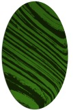 rug #1129755 | oval light-green rug