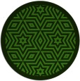 rug #1129823 | round light-green graphic rug