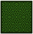 rug #1129831 | square light-green borders rug