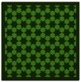 rug #1129891 | square light-green borders rug