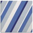 rug #1130231 | square blue stripes rug