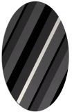 rug #1130307   oval stripes rug