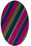 rug #1130349   oval stripes rug