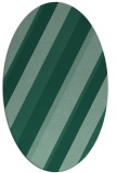 rug #1130359 | oval blue-green rug