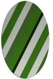 rug #1130445   oval stripes rug