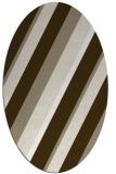 rug #1130463 | oval white rug