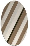 rug #1130483   oval stripes rug