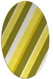 rug #1130595 | oval white popular rug
