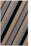 rug #1130687 |  black stripes rug