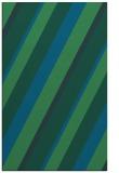rug #1130735 |  blue stripes rug