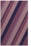 rug #1130767 |  blue-violet stripes rug