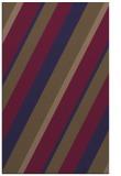 rug #1130775 |  blue-violet stripes rug