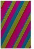 rug #1130791 |  blue-green stripes rug