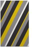 rug #1130995 |  yellow stripes rug