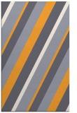 rug #1131035    light-orange stripes rug