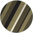 rug #1131063 | round black stripes rug