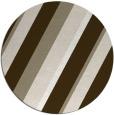 rug #1131199   round white stripes rug
