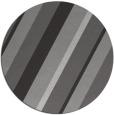 rug #1131259 | round red-orange stripes rug