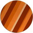rug #1131315   round red-orange stripes rug