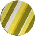 rug #1131331 | round white stripes rug