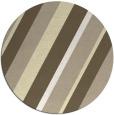 rug #1131359   round yellow stripes rug