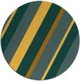 rug #1131367 | round light-orange stripes rug