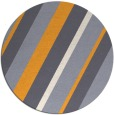 rug #1131403   round light-orange stripes rug
