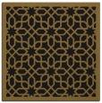rug #1131795 | square mid-brown rug