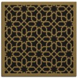 rug #1131803 | square mid-brown borders rug