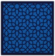 rug #1131807 | square blue borders rug