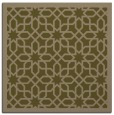 rug #1131887 | square mid-brown borders rug