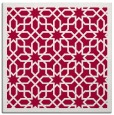 rug #1131891   square red borders rug