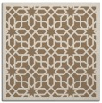 rug #1131931 | square beige borders rug