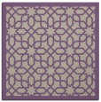 rug #1131959 | square purple borders rug