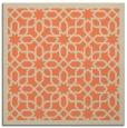 rug #1131991   square orange borders rug