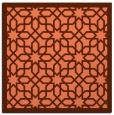 rug #1131995   square orange borders rug