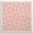 rug #1132011 | square white geometry rug