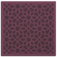rug #1132015 | square purple geometry rug